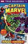 True Believers Captain Marvel vs Ronan #1