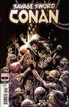 Savage Sword Of Conan #1 Cover D Incentive Ron Garney Color Variant Cover