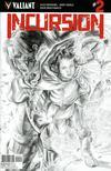 Incursion (Valiant Entertainment) #2 Cover C Variant Doug Braithwaite Sketch Cover