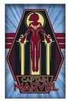 Captain Marvel 11x17 Framed Print - Vector Art