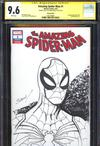 Amazing Spider-Man Vol 5 #1 Cover Z-P Variant Mark Bagley Hand-Drawn Sketch Cover CGC 9.6 (Filled Ra