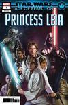 Star Wars Age Of Rebellion Princess Leia #1 Cover B Variant Giuseppe Camuncoli & Elia Bonetti Connecting Promo Cover