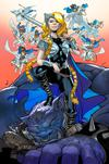 War Of The Realms #2 Cover D Variant Javier Garron Young Guns Cover