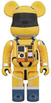 2001 A Space Odyssey Space Suit 1000 Percent Bearbrick Yellow Version