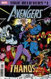 True Believers Avengers Thanos Final Battle #1