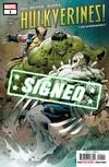 Hulkverines #1 Cover F Regular Greg Land & Frank DArmata Cover Signed By Greg Pak