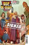 Age Of X-Man Alpha #1 Cover G Regular Phil Noto Cover Signed By Zac Thompson & Lonnie Nadler