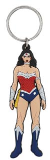 DC Heroes Soft Touch PVC Keyring - Wonder Woman