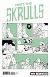 Meet The Skrulls #2 Cover B Variant Nao Fuji Cat Cover