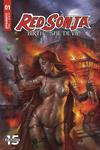 Red Sonja Birth Of The She-Devil #1 Cover A Regular Lucio Parrillo Cover