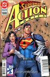 Action Comics Vol 2 #1000 Cover Z-Z-A DF Variant Dan Jurgens 1990s Cover Silver Signature Series Signed By Kevin Nowlan