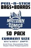 Current Size Comic Book Peel-N-Stick Bag-N-Board 50-Pack