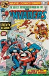 Invaders #6 Cover A 25-Cent Regular Edition