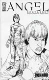Angel Spotlight Connor One Shot Cover E Incentive Gill Sketch Cover