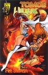 Tomoe Witchblade Fire Sermon #1 Billy Tucci Cover