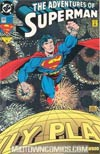 Adventures Of Superman #505 Cover B Holo-Grafx Foil Cover