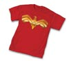 Wonder Woman III Symbol T-Shirt Large