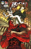 Iron & The Maiden Incentive Limited Edition Cover Print #4 Cover D By Michael Turner