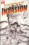 Secret Invasion #1 Cover H Incentive Steve McNiven Sketch Variant Cover