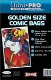 Ultra Pro Golden Age Comic Bags 100-pack