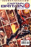 Captain Britain And MI 13 #1 1st Ptg Regular Bryan Hitch Cover (Secret Invasion Tie-In)