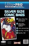 Ultra Pro Silver Age Size Comic Bags 100-Pack