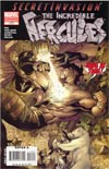 Incredible Hercules #117 2nd Ptg Sandoval Variant Cover (Secret Invasion Tie-In)