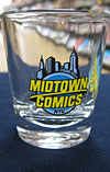 Midtown Comics Shot Glass