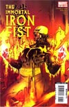 Immortal Iron Fist #17 Cover A Regular Travel Foreman Cover