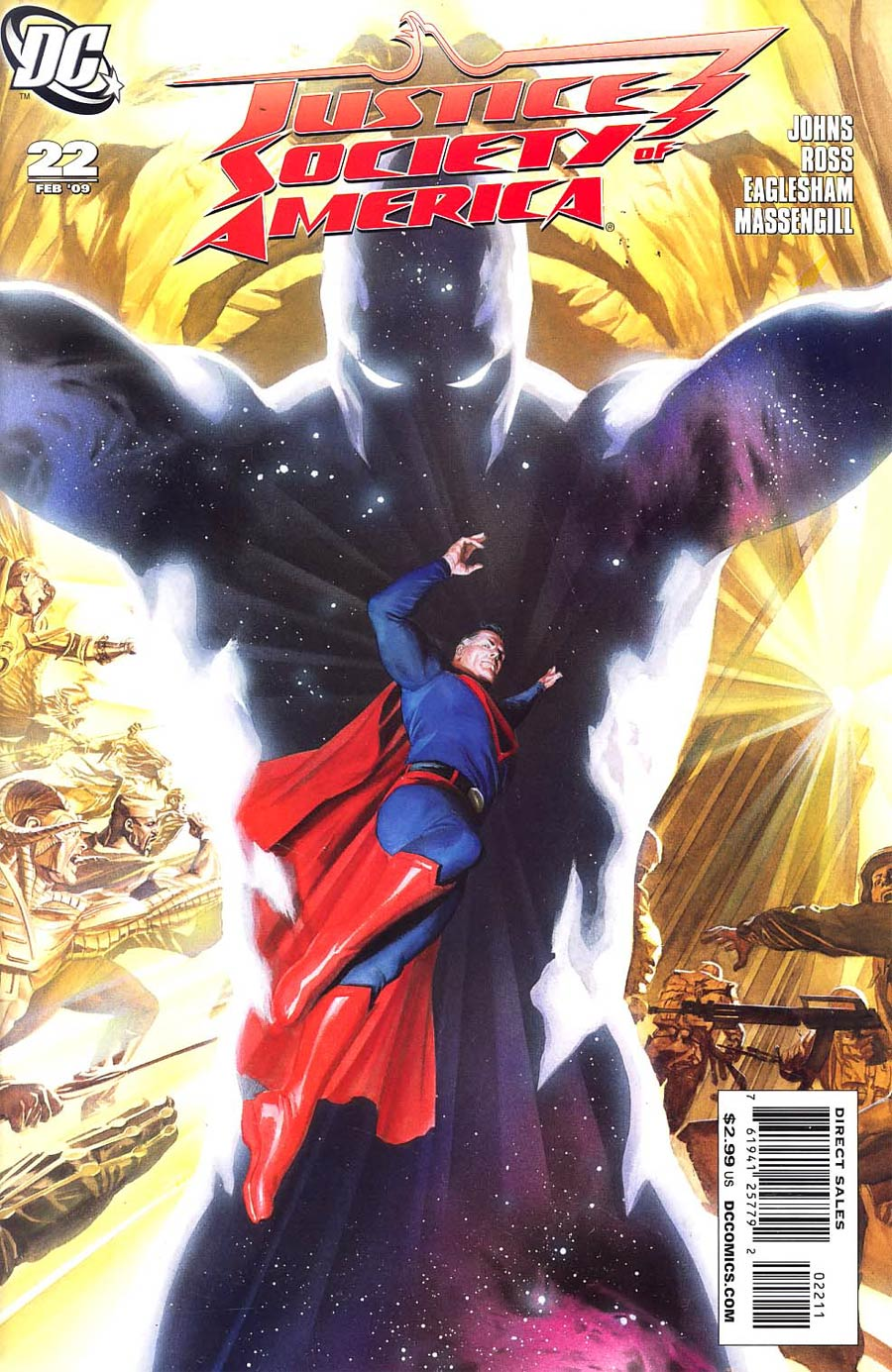 Justice Society Of America Vol 3 #22 Cover A Regular Alex Ross Cover