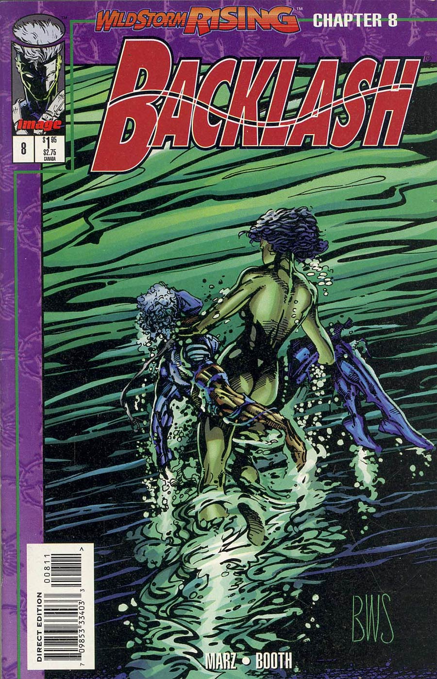 Backlash #8 Cover C Newsstand Edition