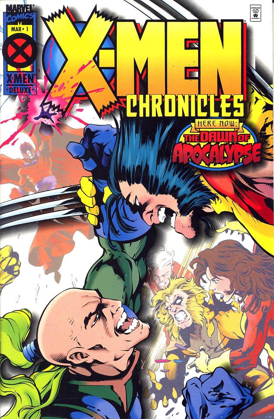 X-Men Chronicles #1 Cover B 2nd Ptg