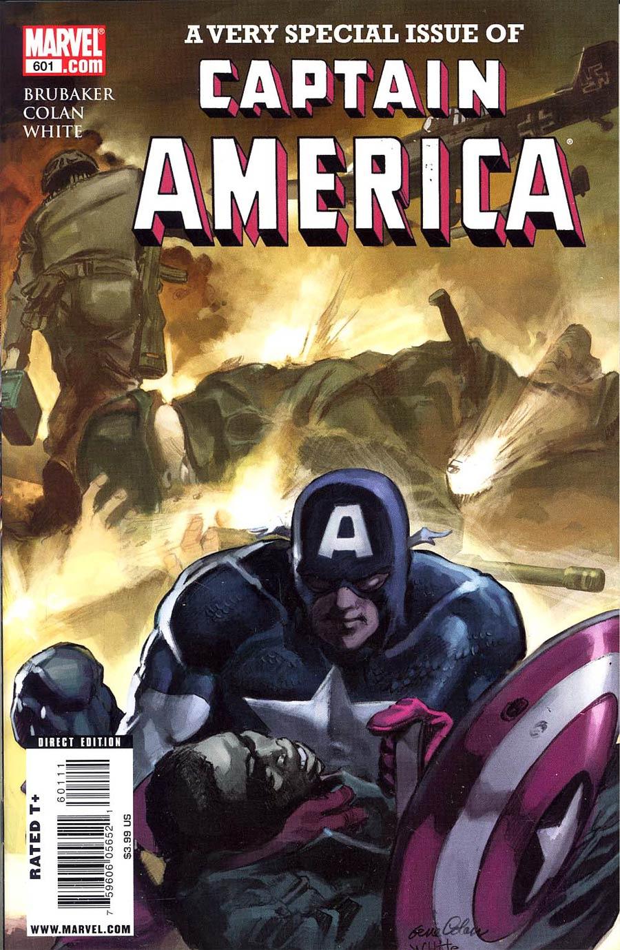 Captain America Vol 5 #601 Cover A 1st Ptg Regular Color Edition
