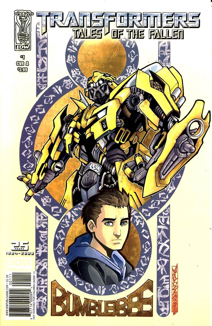 Transformers Tales Of The Fallen #1 Cover A