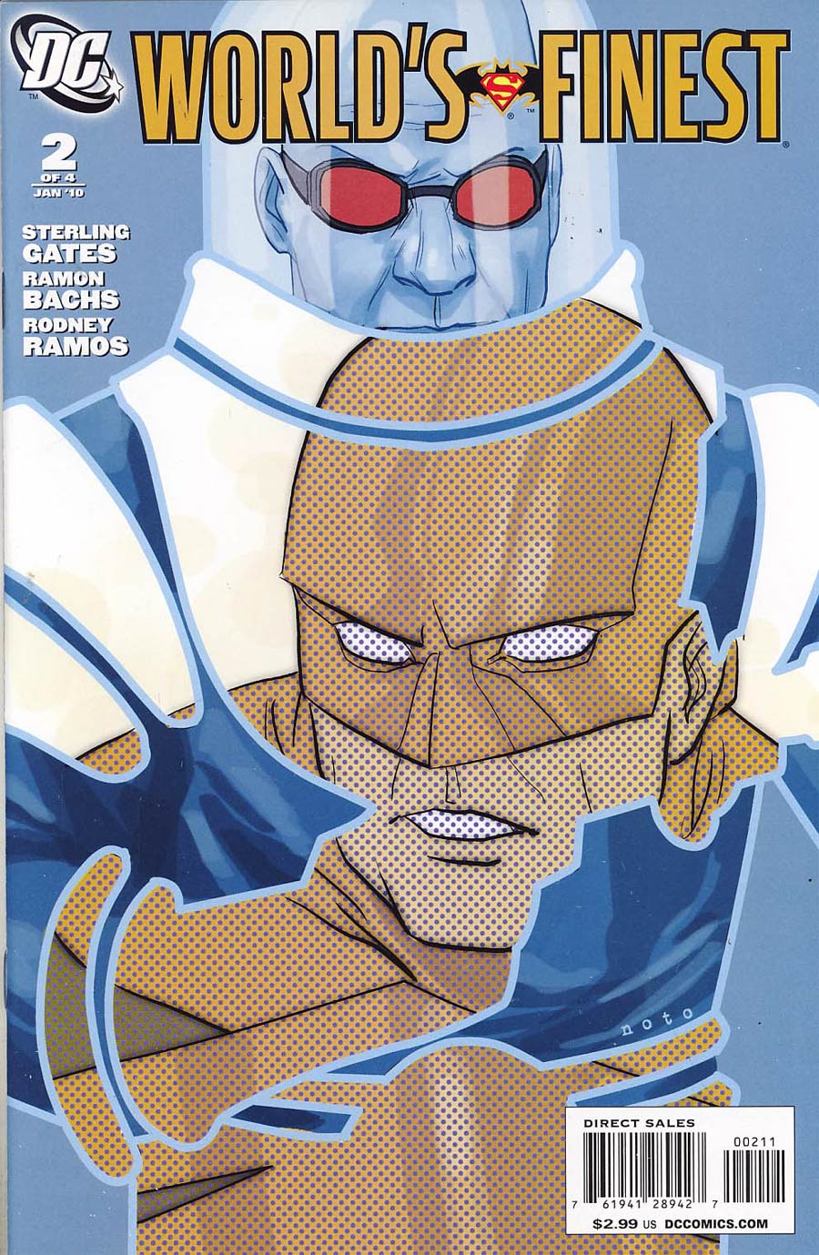 Worlds Finest Vol 2 #2 Cover A Guardian And Mr Freeze