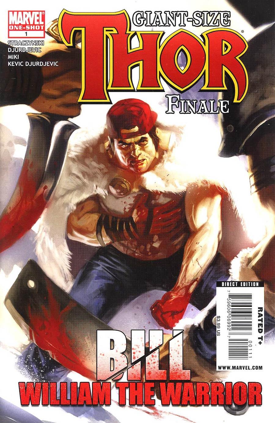 Thor Giant-Size Finale Cover A Regular Marko Djurdjevic Cover