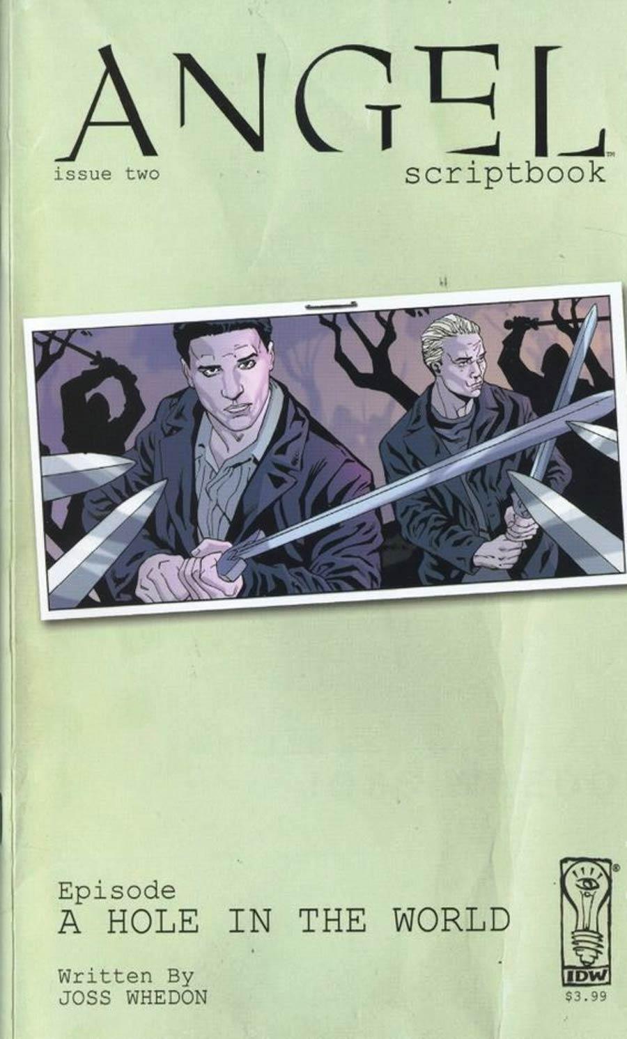 Angel Scriptbook #2 Cover A Regular Jeff Johnson Art Cover
