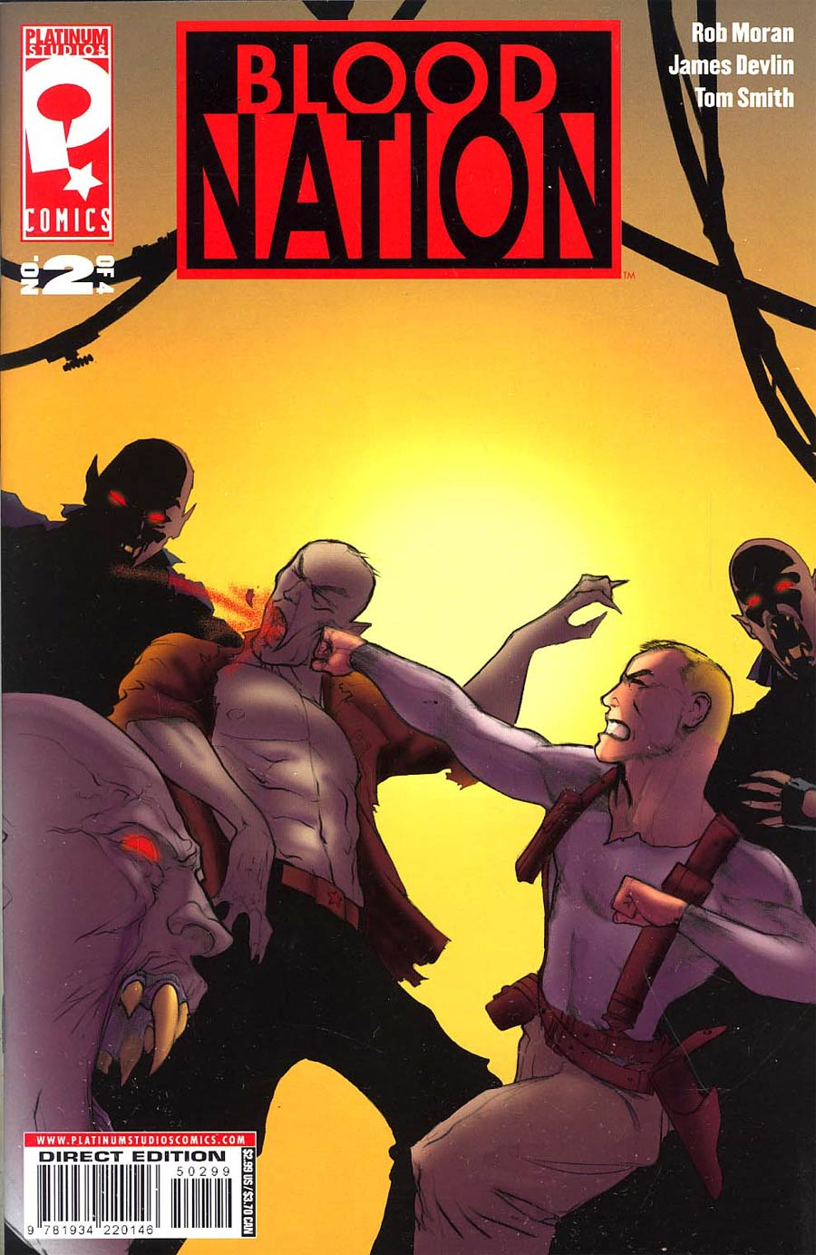 Blood Nation #2 Cvr B