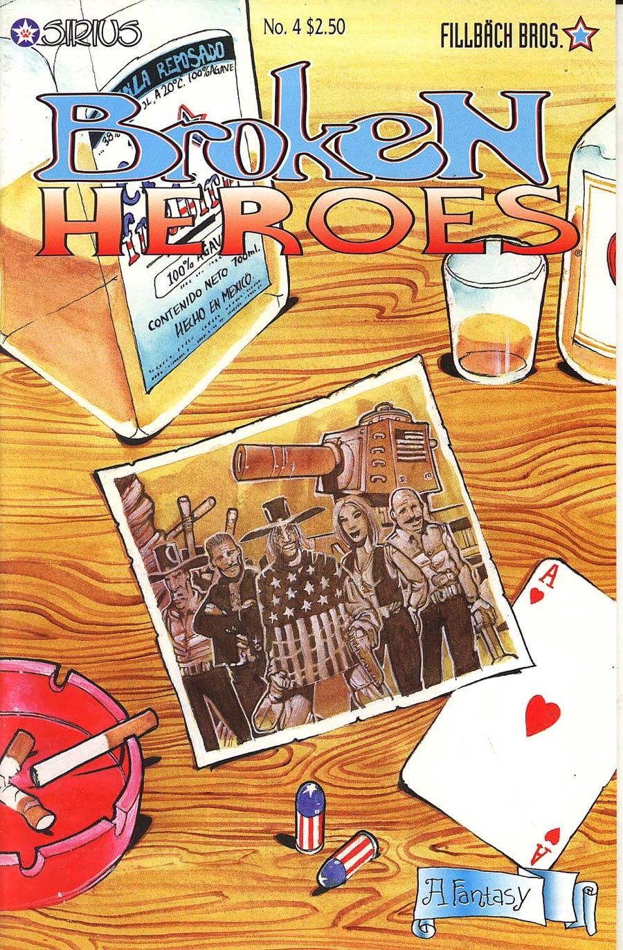 Broken Heroes #4