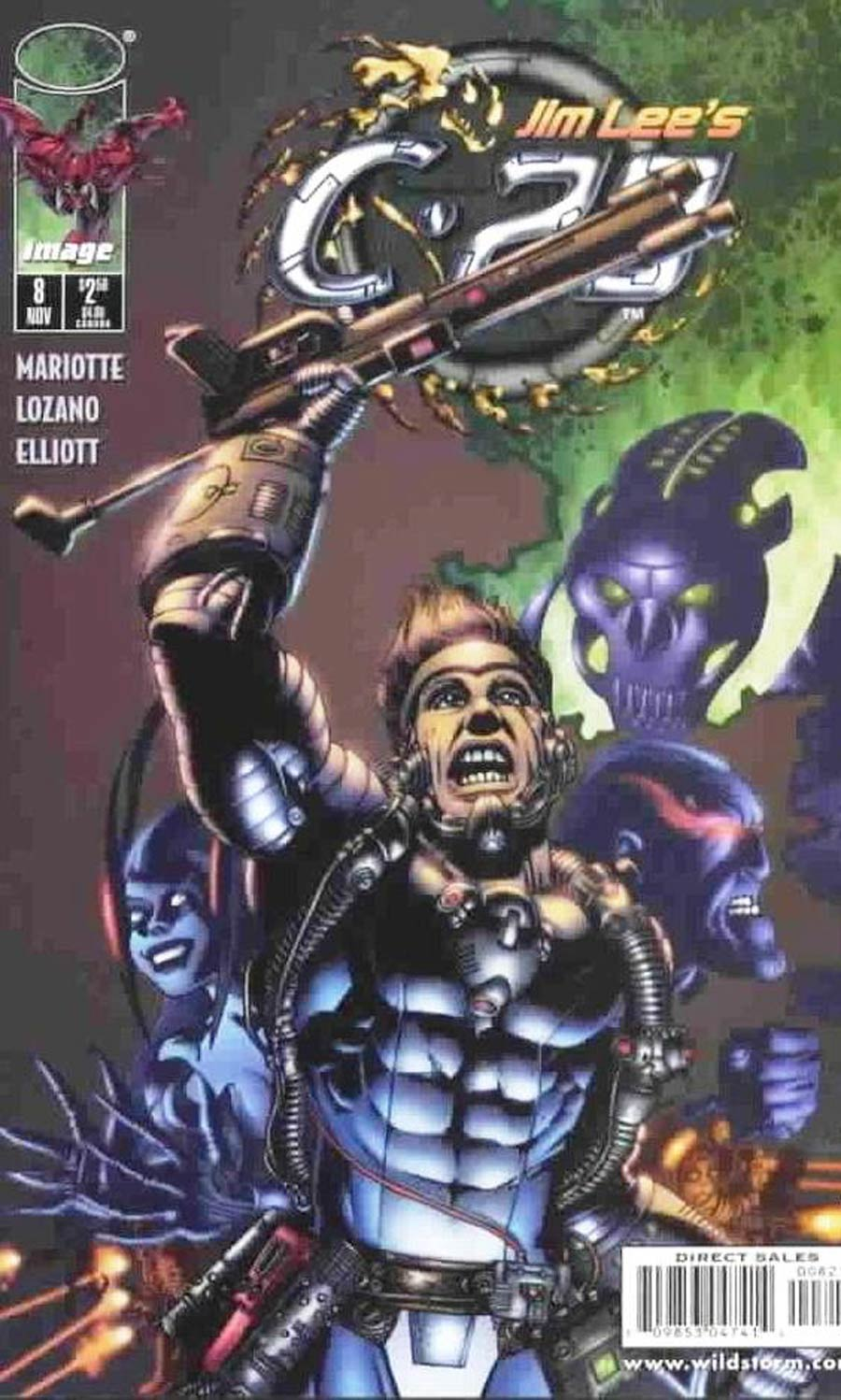 C-23 #8 Cover A Regular Richard Corben Cover