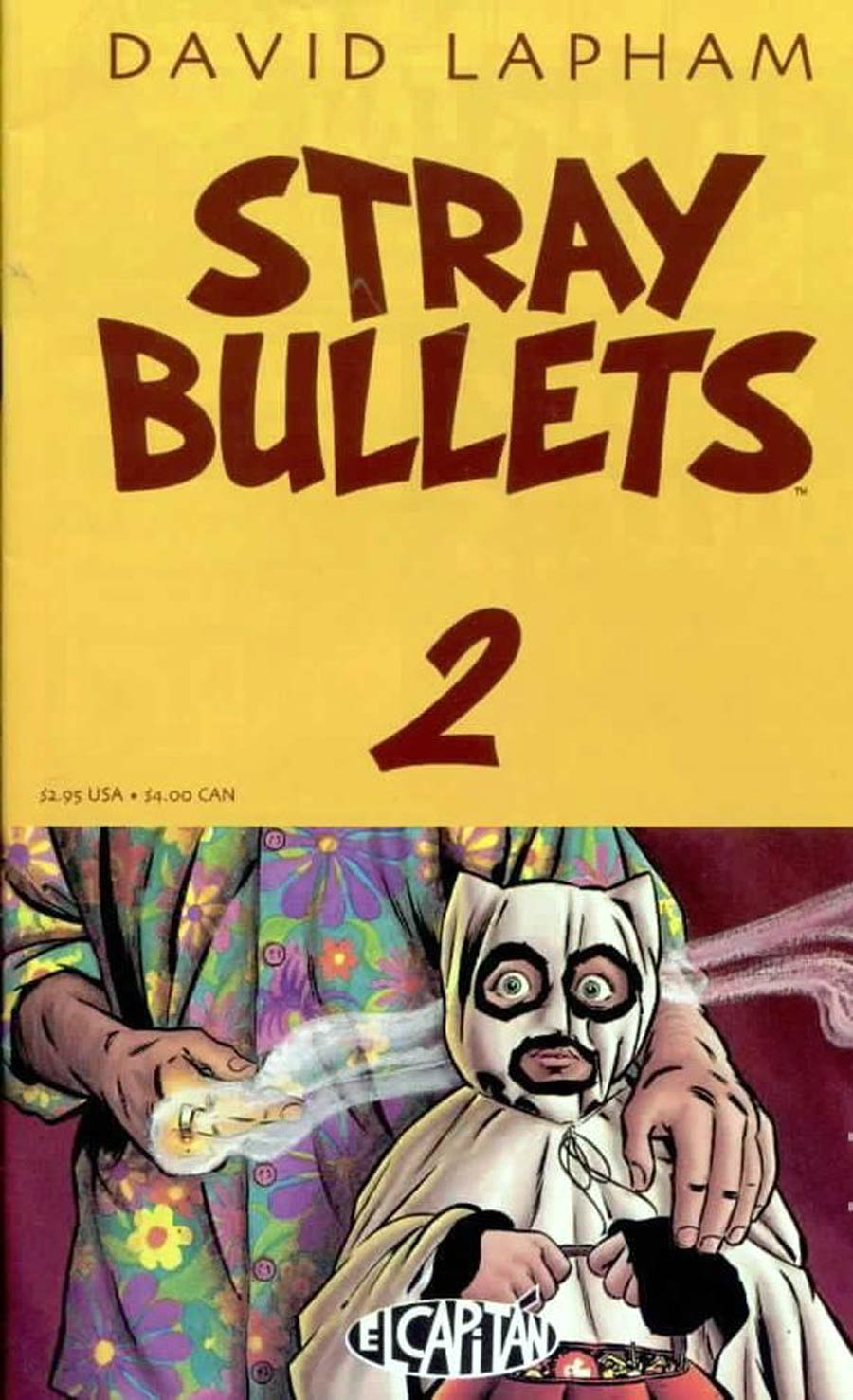 Stray Bullets #2 4th Printing