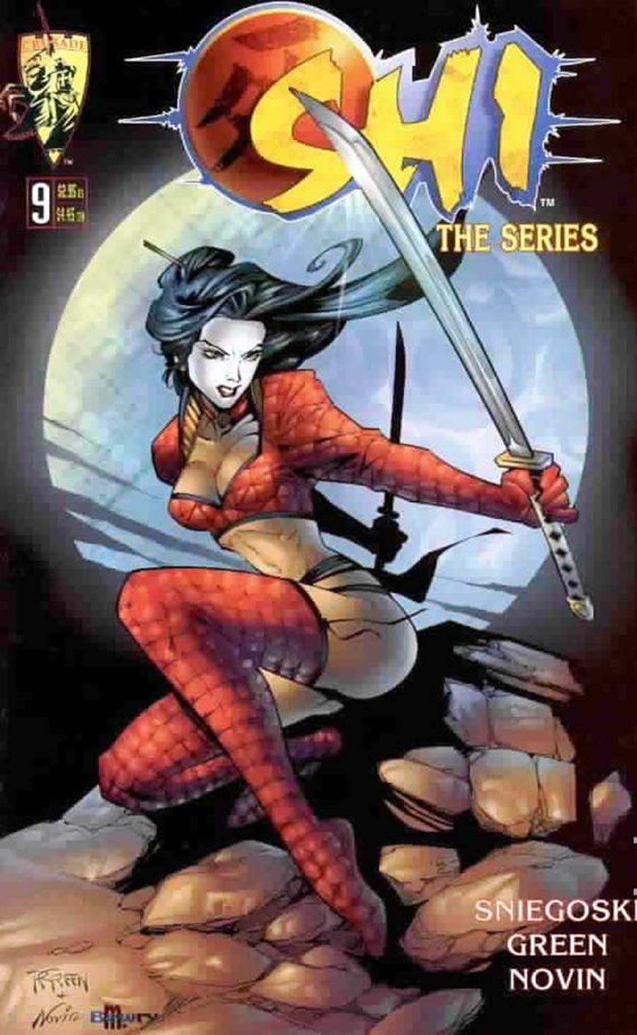 Shi The Series #9 Cover C Randy Green Cover