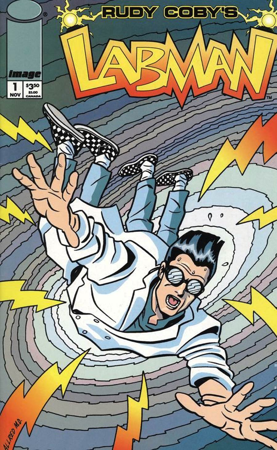 Labman #1 Cover D Mike Allred Cover