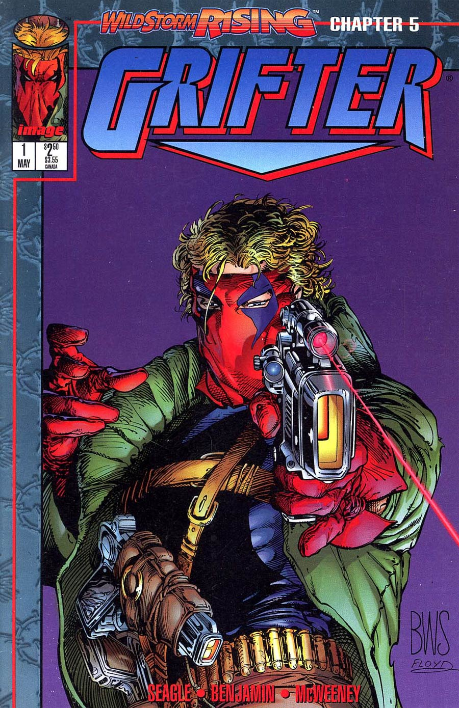 Grifter #1 Cover B Direct Edition Without Cards