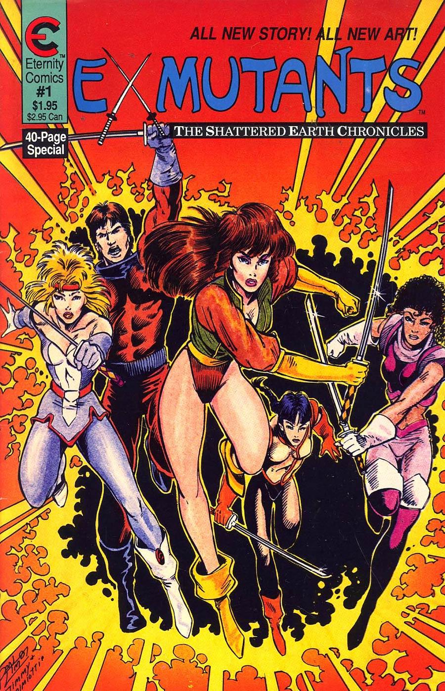 Ex-Mutants Shattered Earth Chronicles #1