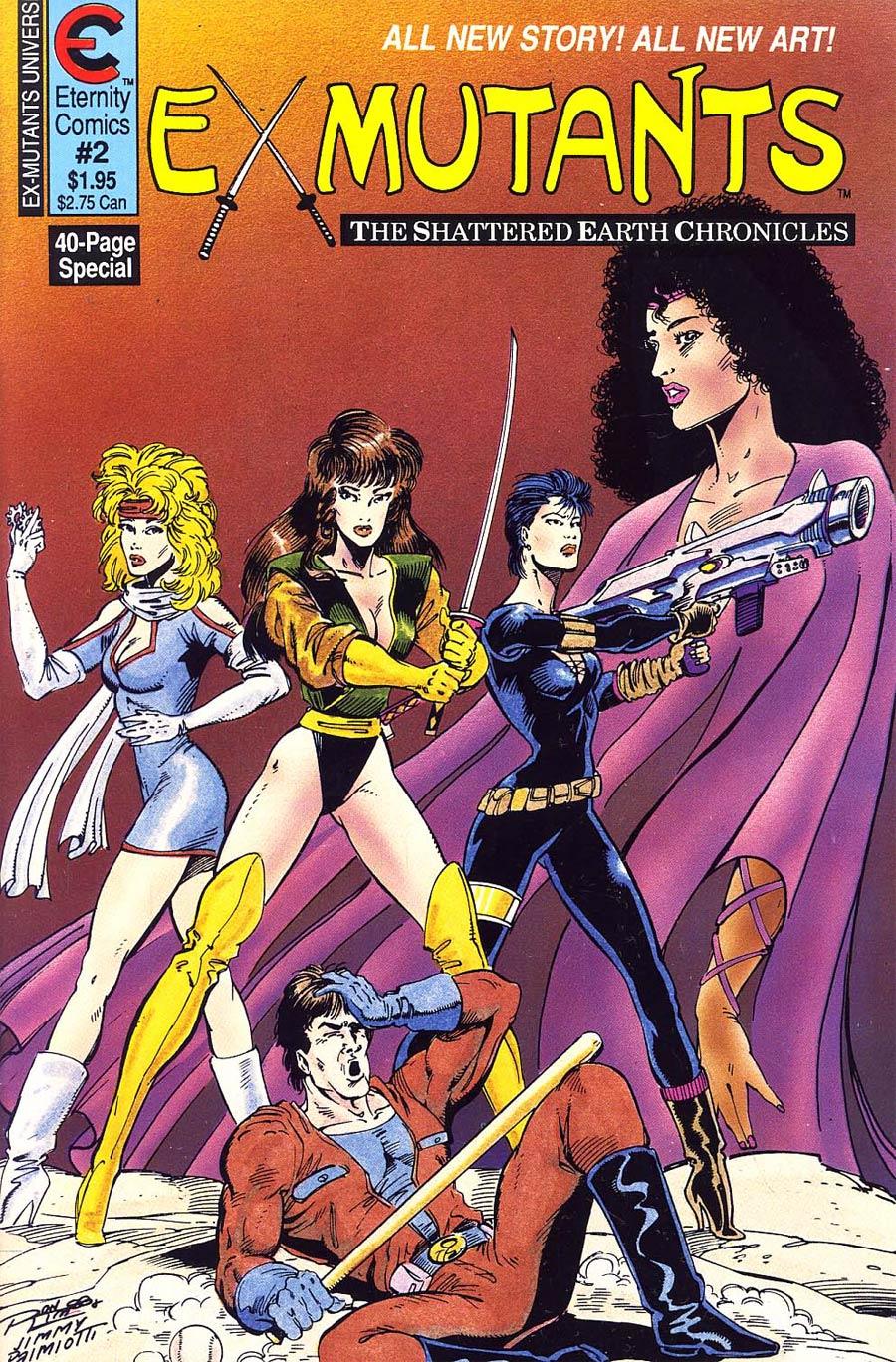 Ex-Mutants Shattered Earth Chronicles #2