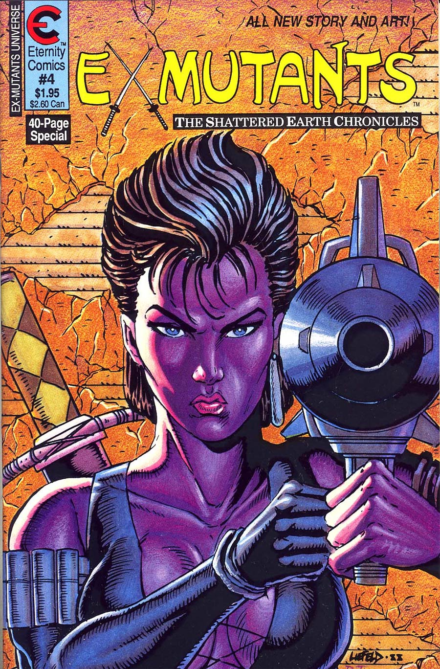 Ex-Mutants Shattered Earth Chronicles #4