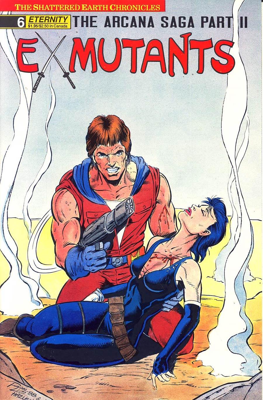 Ex-Mutants Shattered Earth Chronicles #6