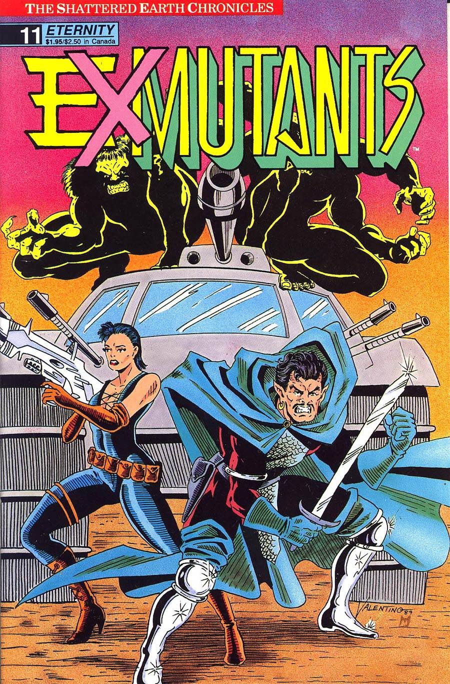 Ex-Mutants Shattered Earth Chronicles #11