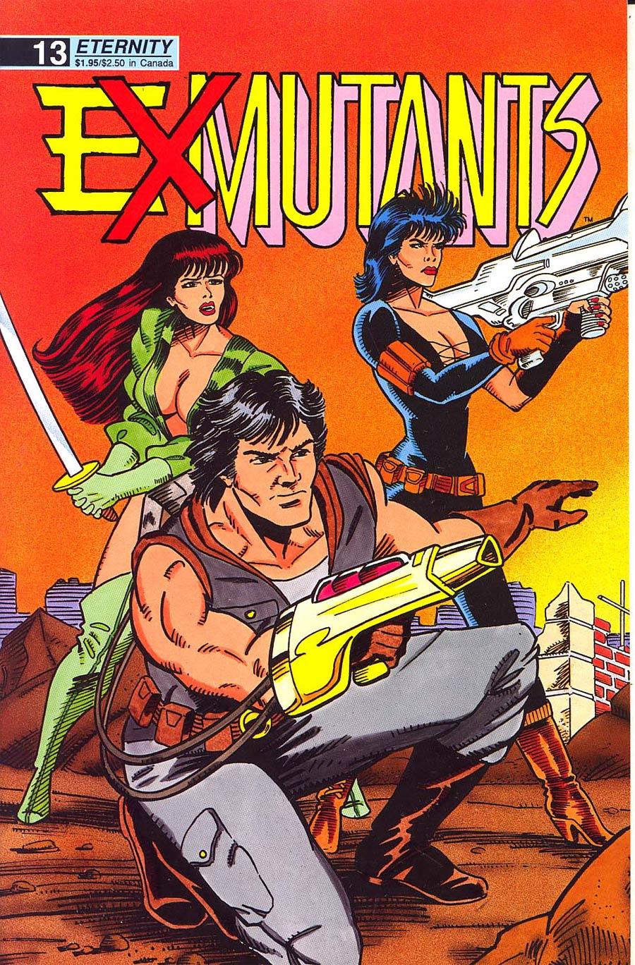Ex-Mutants Shattered Earth Chronicles #13